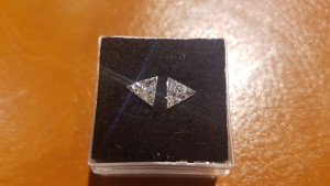 Photo de Paire de triangles diamant